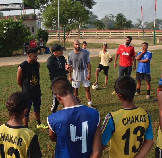 In the Community with Sher-E Punjab Sports Academy